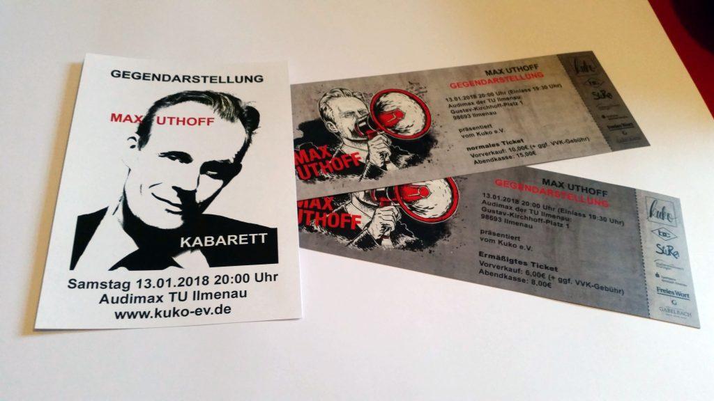 Max Uthoff - Eintrittskarten